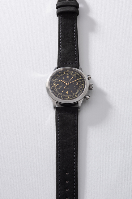 Rolex, 'A very rare and attractive stainless steel chronograph wristwatch with telemeter and tachymeter scales', Circa 1945, Phillips