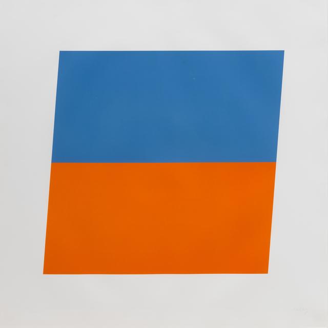 , 'Blue / Red-Orange,' 1972, Susan Sheehan Gallery