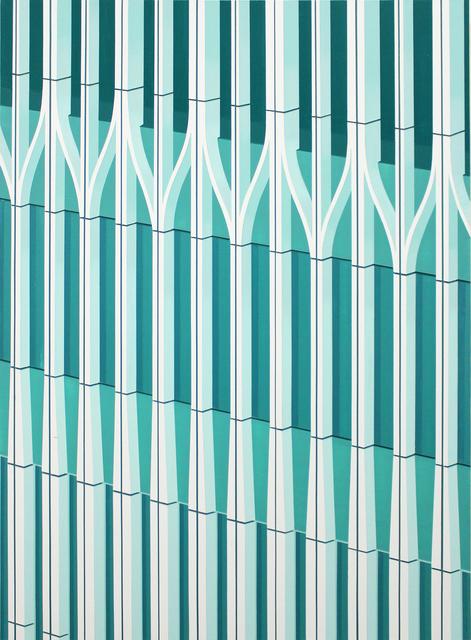 , 'WTC (Green),' 2016, Peter Blum Gallery