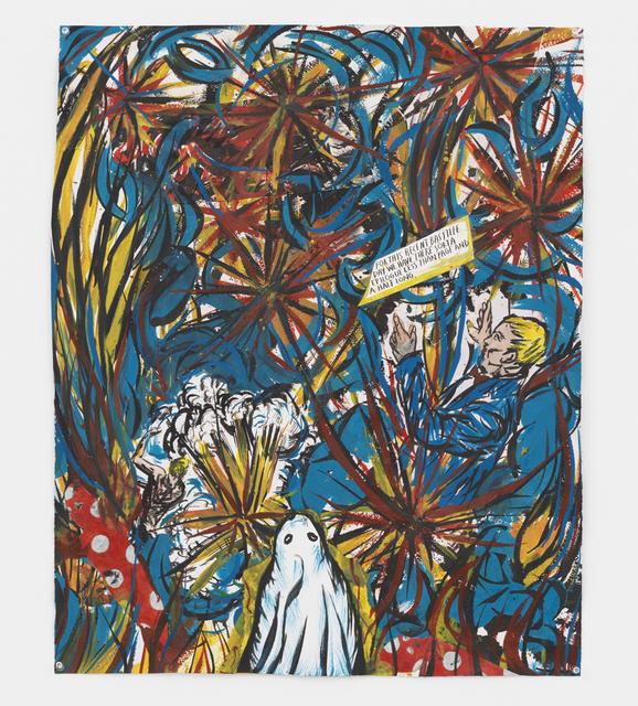 , 'Bastille Day,' 2016, David Zwirner