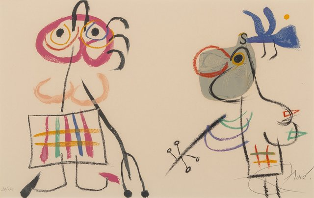 Joan Miró, 'Untitled, from L'Enfance D'Ubu', 1975, Heritage Auctions
