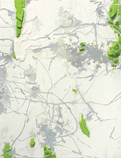 Ng Joon Kiat, 'Green Series 2', 2012, Painting, Acrylic on cloth, Space Cottonseed