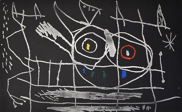 Joan Miró, ' Couple of Birds III | Couple d'Oiseaux III', 1966, Gilden's Art Gallery