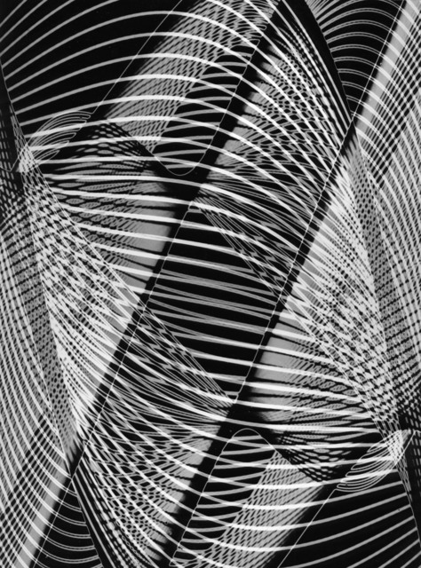 , 'Untitled, Rhythmogram no. 3782/183a+c/A2,' ca. 1950, SCHEUBLEIN + BAK