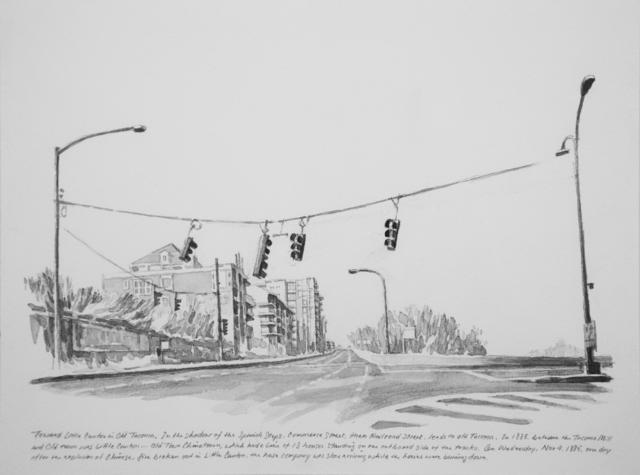 , 'Toward Little Canton in Old Tacoma,' 2017, Koplin Del Rio