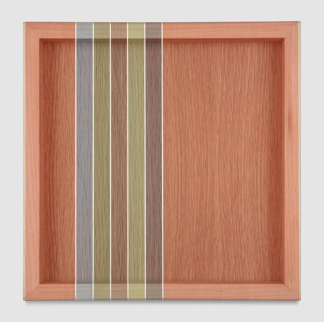 , 'Untitled (Tomato Red Hovering Thread),' 2017, PRAZ-DELAVALLADE