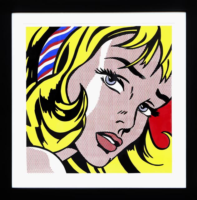 Roy Lichtenstein, 'Girl with Hair Ribbon', 1982, RoGallery