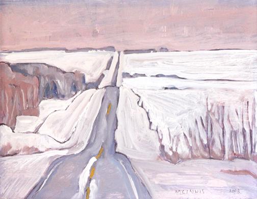 RFM McInnis, 'WINTER ROAD', 2008, Roberts Gallery Ltd.