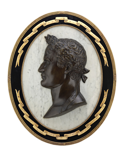 , 'NAPOLÉON PORTRAIT BRONZE AND MARBLE PLAQUE,' 19th Century, M.S. Rau Antiques