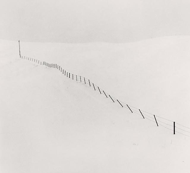 , 'Hillside Fence, Study 1, Teshikaga, Hokkaido, Japan,' 2002, Patricia Conde Galería