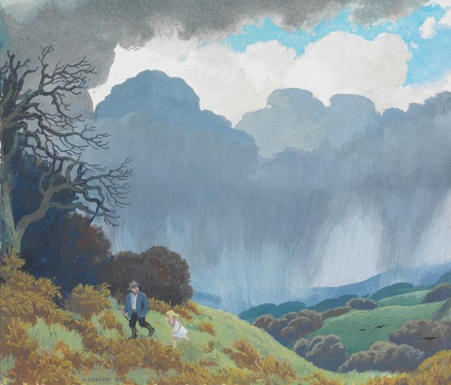 , 'Coming Storm,' 1986, Messums