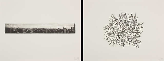 , 'Borderline - Mexico City,' 2011, Himmelblau Printmaking Finland