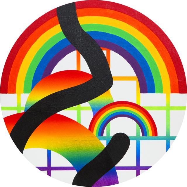 , 'Rainbow Variation VI,' 2015, Mirus Gallery