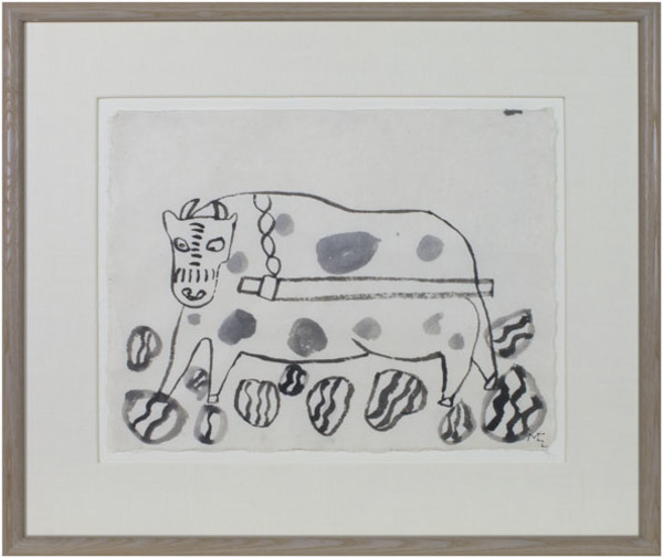, 'Untitled (Ox?),' 1991, David Barnett Gallery