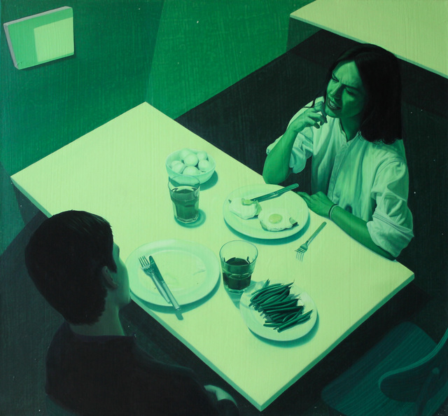 , 'Green Dinner,' 2015, Cob