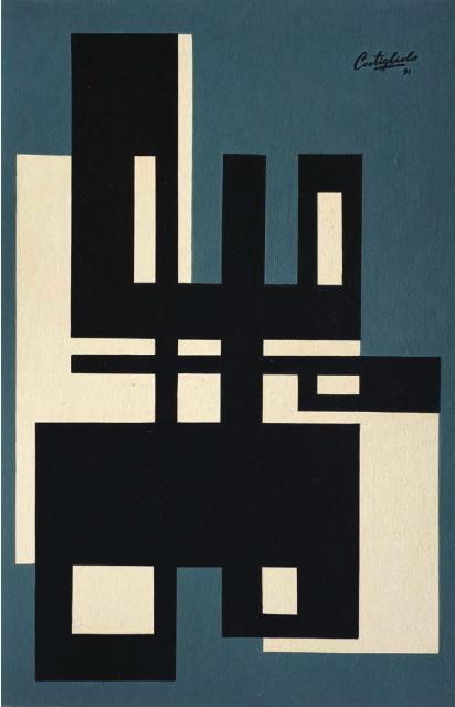 , 'Formas,' 1951, Galería de las Misiones