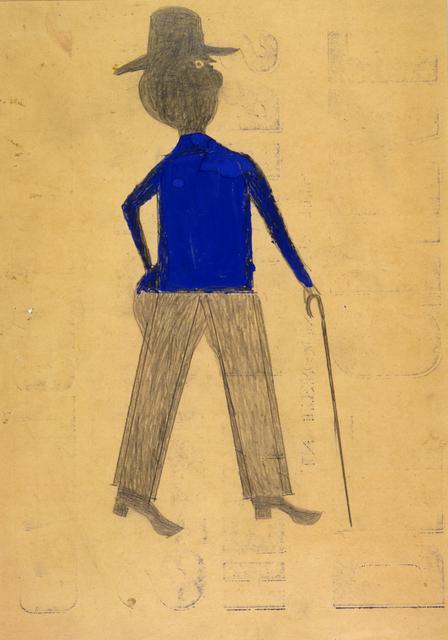 , 'Man in Blue Shirt,' ca. 1939, Newark Museum