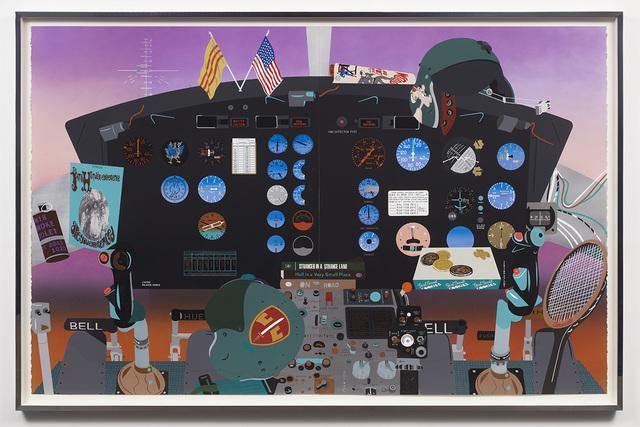 Matthew Brannon, 'Concerning Vietnam: Bell UH-1D Iroquois, Cockpit (III)', 2019, David Kordansky Gallery