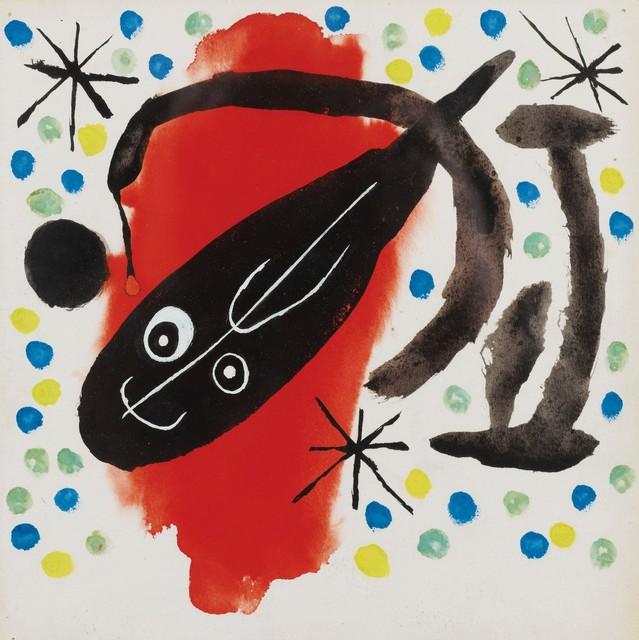 Joan Miró, 'Projet de couverture pour Atmosfera Miró', 1959, Rosenfeld Gallery LLC
