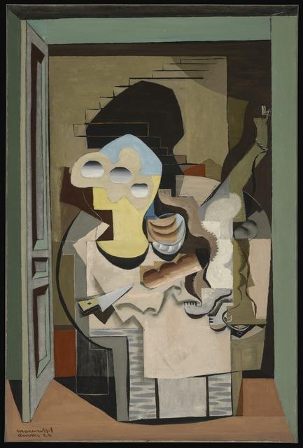 Louis Marcoussis, 'Anvers (Cubist Composition)', 1928, Yale University Art Gallery