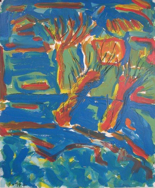 , 'Arbres 04 - 06 ,' 1994, Galerie Marie-Robin