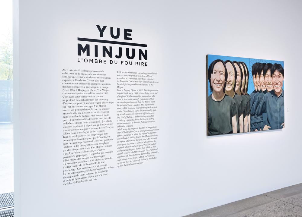 © Yue Minjun Photo © Grégoire Eloy