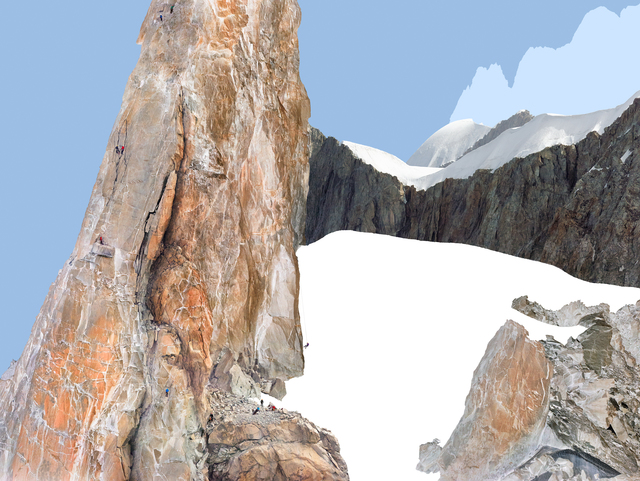 , 'Alps -Geographies and People #9,' 2012, Matthew Liu Fine Arts