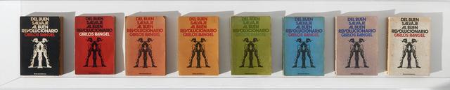 , 'Colour Bars - Eight editions of Del Buen Salvaje al Buen Revolucionario /  Barra de Colores - Ocho ediciones Del Buen Salvaje al Buen Revolucionario,' 2013, Henrique Faria Fine Art