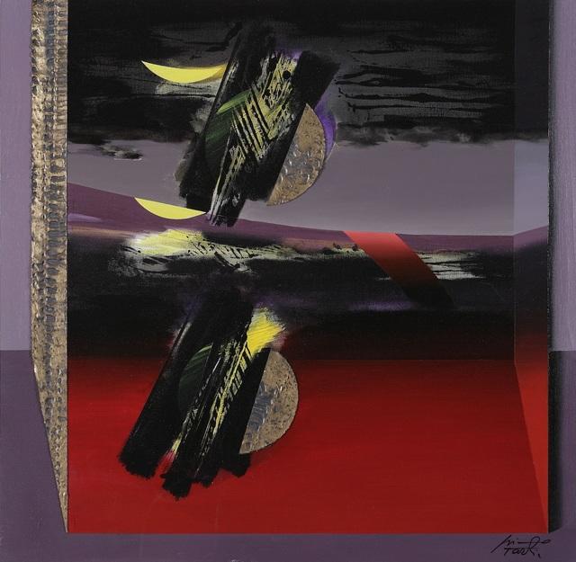 , 'Luna catturata / Caught moon,' 2004, Galleria Edarcom Europa