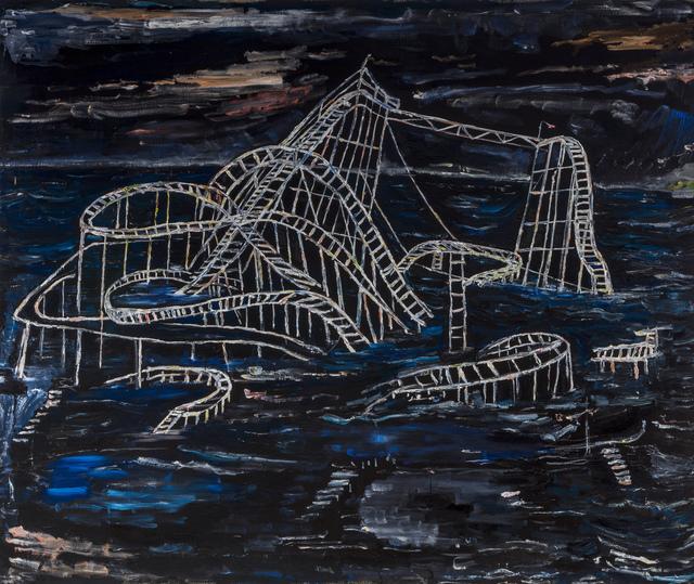 , 'Eurydice's Roller Coaster ,' 2017, The LODGE