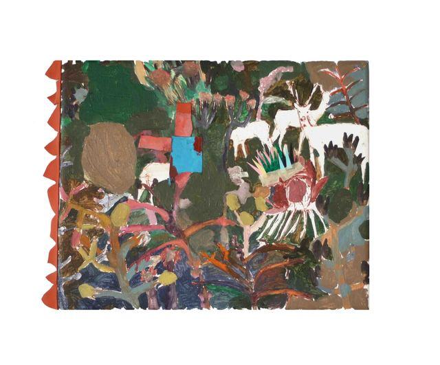 Mònica Subidé, 'Flor azul, topo marrón', 2019, Galeria Contrast