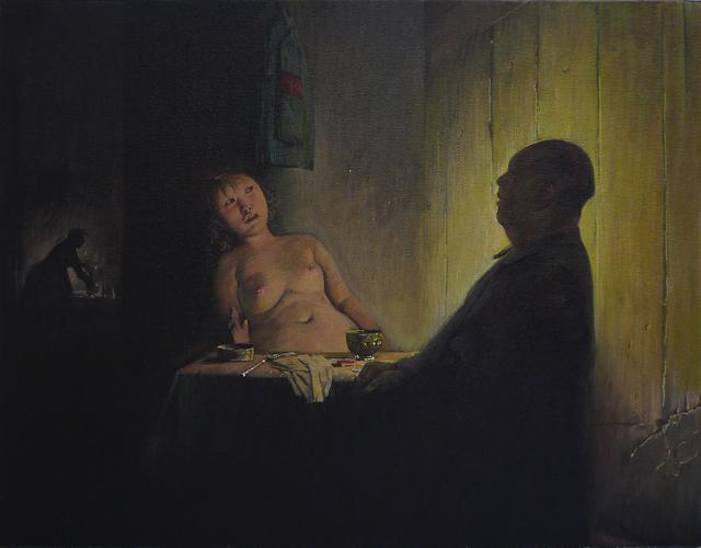 , 'Night Visit,' 2011, Klein Sun Gallery