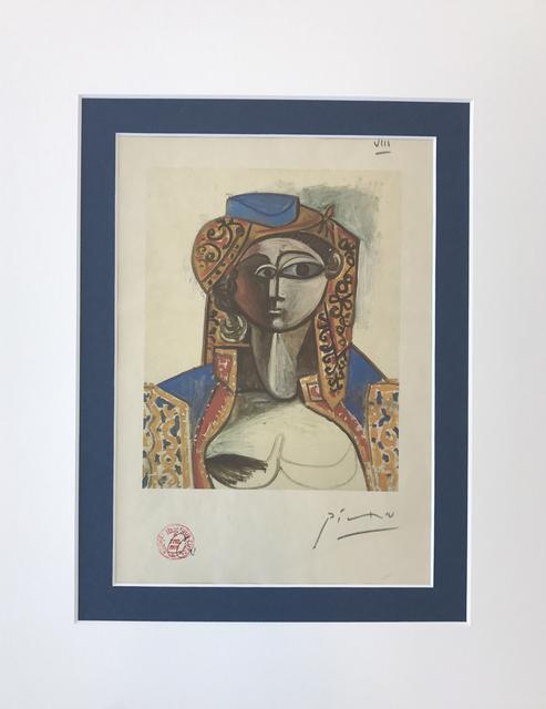 , 'Jacqueline Roque en costume turc,' 1955, Tranter-Sinni Gallery