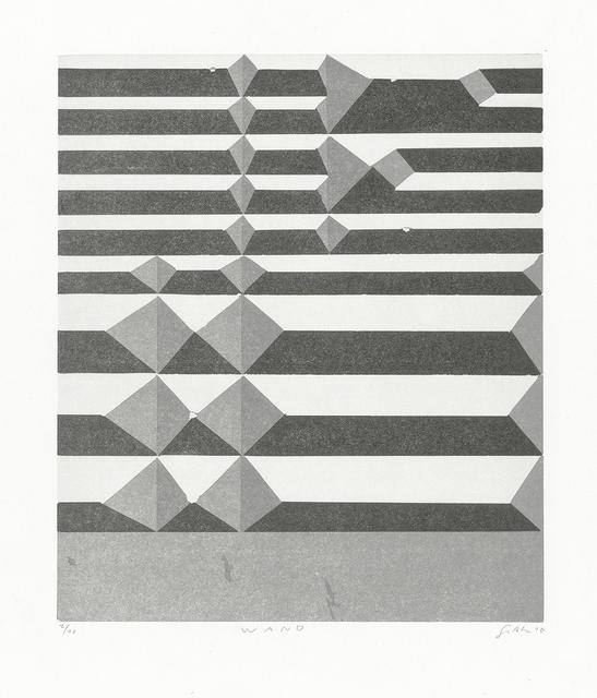 , 'Wand,' 2015, Aspinwall Editions