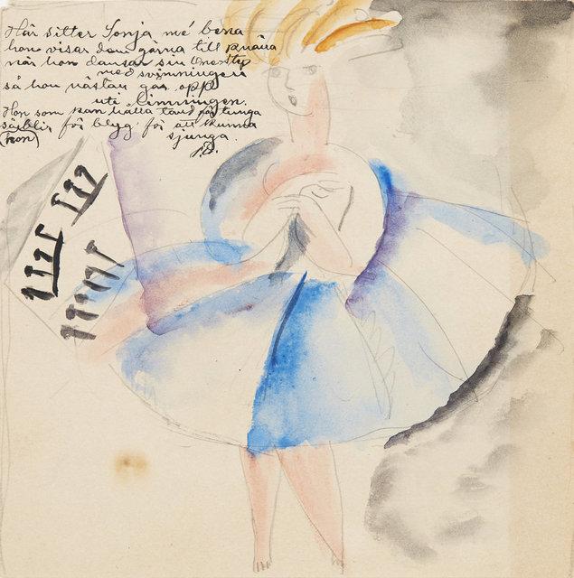 , ' Sonja dansar onestep,' , CFHILL
