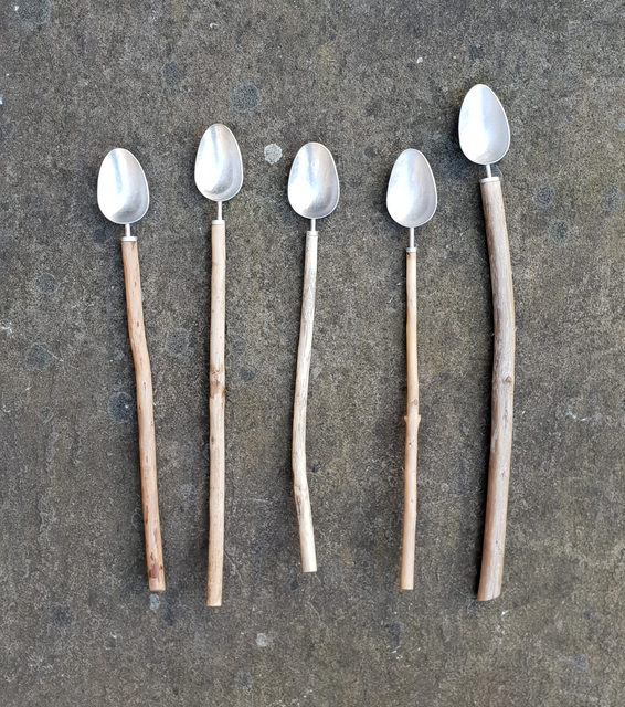 , 'Small Driftwood Spoons,' ca. 2018, The Scottish Gallery
