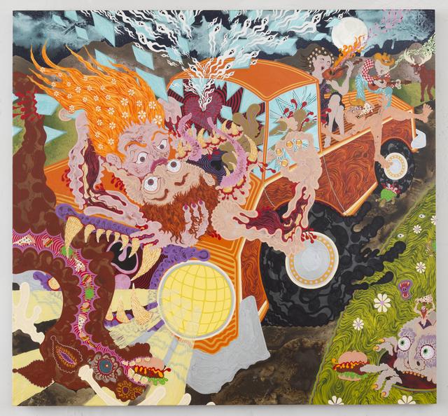 , 'Gone Truckin',' 2017, Joshua Liner Gallery