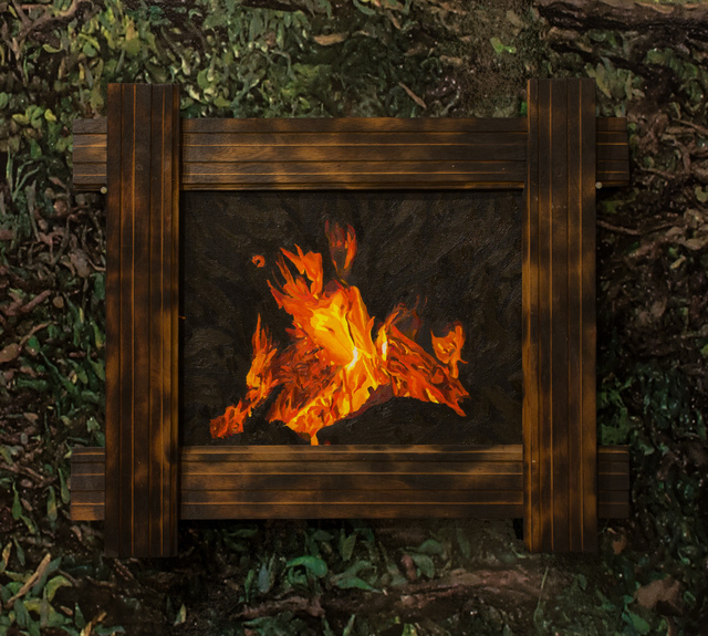 , 'Fire Series, No. 13,' 2018, Track 16 Gallery