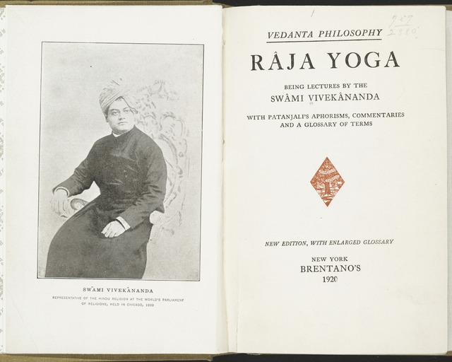 , 'Raja Yoga. Tamil Nadu, India, 1944 reprint of 1896 edition,' 1896/1944, Asian Art Museum