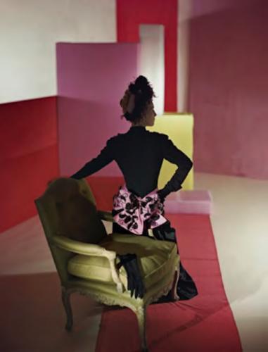 , 'Suit and Headdress by Schiaparelli,' 1947, Bernheimer Fine Art