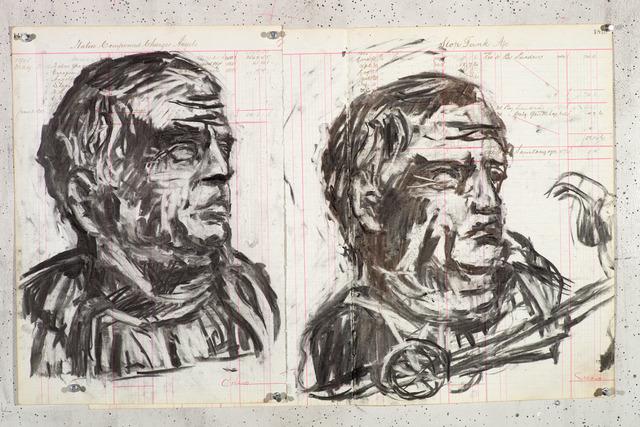 , 'Drawing for Triumphs & Laments (#28),' 2014, Lia Rumma