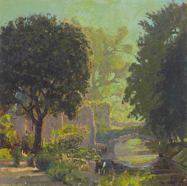 , 'Ninfa, The Trees and the River,' 2017, John Martin Gallery