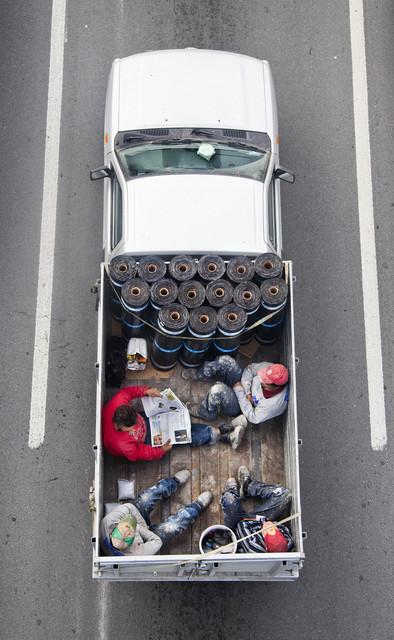 , 'Carpoolers 46,' 2011-2012, CuratorLove