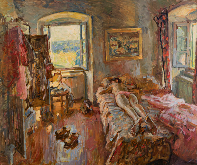 , 'Bedroom Nude,' 2016, Grenning Gallery