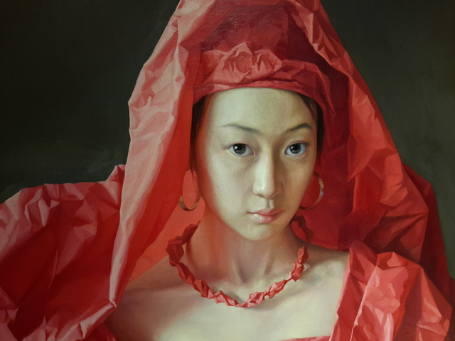 Zeng Chuanxing, 'Red Paper Bride', 2010, Tanya Baxter Contemporary
