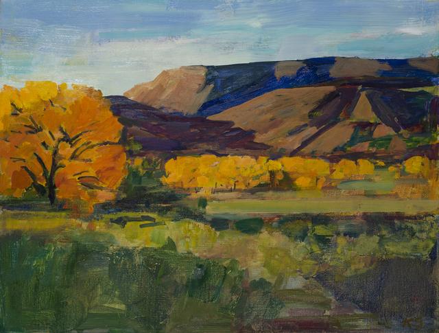 Kurt Solmssen, 'Cottonwoods in Abiquiu, NM', 2019, Linda Hodges Gallery