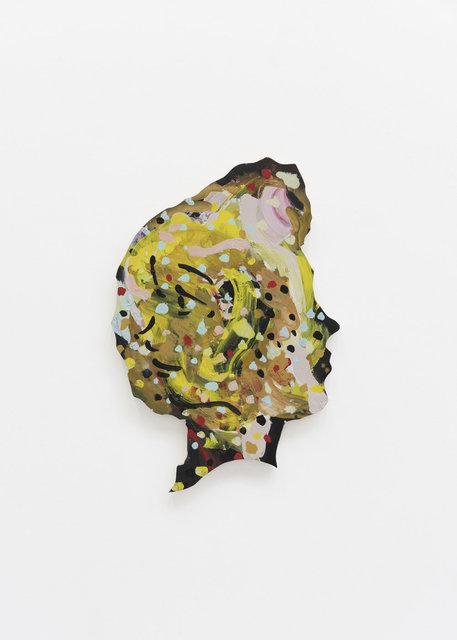, 'Double Portrait (Profile Dots),' 2018, CFHILL