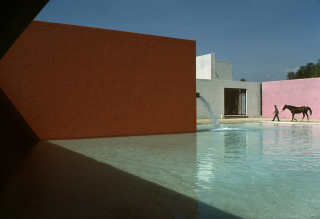 René Burri, 'Horse Pool and House by Luis Barragan, San Cristobal, Mexico', 1976, Atlas Gallery