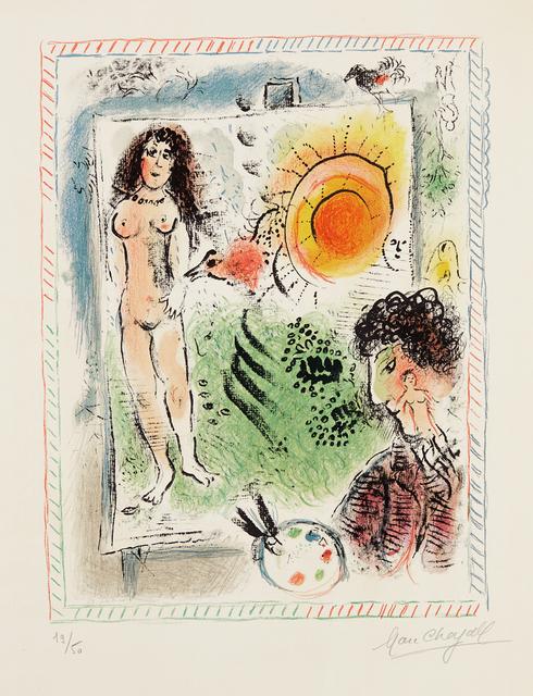 Marc Chagall, 'Le Soleil de l'atelier (Sun in the Workshop)', 1971, Phillips
