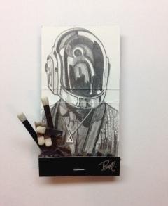 matchbox artists, 'Daft Punk 2', 2015, Muriel Guépin Gallery
